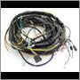 Kabelmatta bak 1800ES sen '72 Vst (ch 939-3069)