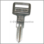 Key blank door/trunk, 1973-78 140/164/240 + boot 240 -85