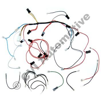 Kabelhärva instrumentbelysning 1800ES 1973 LHD