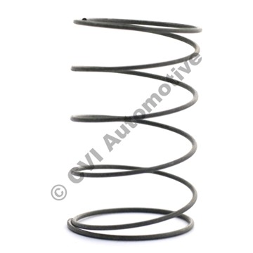 Thrust spring, vacuum bellows
