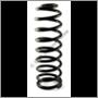 Bakfjäder std, 245/265 (Tråddiameter = 12,95 mm)