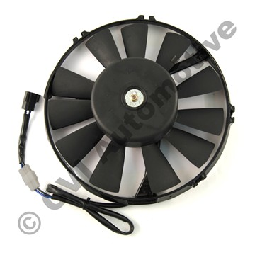 Radiator fan motor, 240 '86-87
