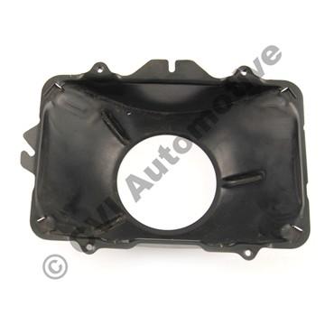 H/lamp bowl inner, 240 USA rect LH (inner LH - for full beam)