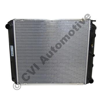 Radiator, 240/740/940 manual +7/940 w/o A/C '85- (460 mm)