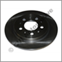 Brake disc rear 700/900 -94 ML (cars with multi-link axle)