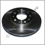 Brake disc front 740 88-90 (DBA & Girling - DIA 262 mm)
