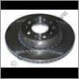 "Brake disc front 700/900 85-93 (15"" DBA & Girling DIA 287 mm)"