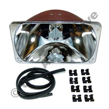 Headlamp reflector, 240 1981- LH/RH (NB! for RH traffic)