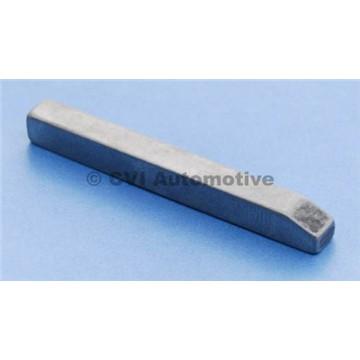 Flat key, rear drive shaft