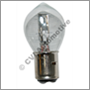 H'lamp bulb, 6v sym w'out sock