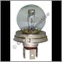 Glödlampa, 6v sym med sockel (6v 45/40W P45t)