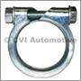 Exhaust clamp, 42mm  B18/B20
