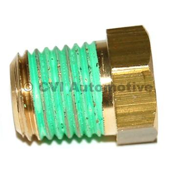 Plug for heater core, PV/Duett