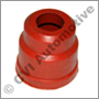 Rubber cap (red), plug leads