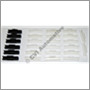 Clip kit windshield trim 200 (for glass w/o blue tinted top 79-85)
