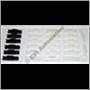 Clipssats vindruta 200 75-84 (för glas utan blåtonat band 79-85)