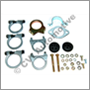 Exhaust fitting kit, P1800 -'66