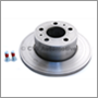 Brake disc front, 1800E/ES