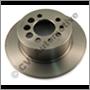 Brake disc rear (Brembo), 164/240 1975-93 +740/940 (rigid axle)  31262098