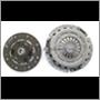 Clutch kit (2-pc) B18/B20, B19A/B21A -'78 (Fichtel & Sachs brand)