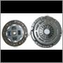 Kopplingssats 240/740/940 M47 85- M45/M46/M47  (Ø228mm 22spl, Sachs)