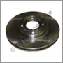 Brake disc front, 850 '92-'93