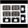 Brake pads front 120/140/240 Girling (Amazon B20 69-70, 164 -71+1800E/ES)