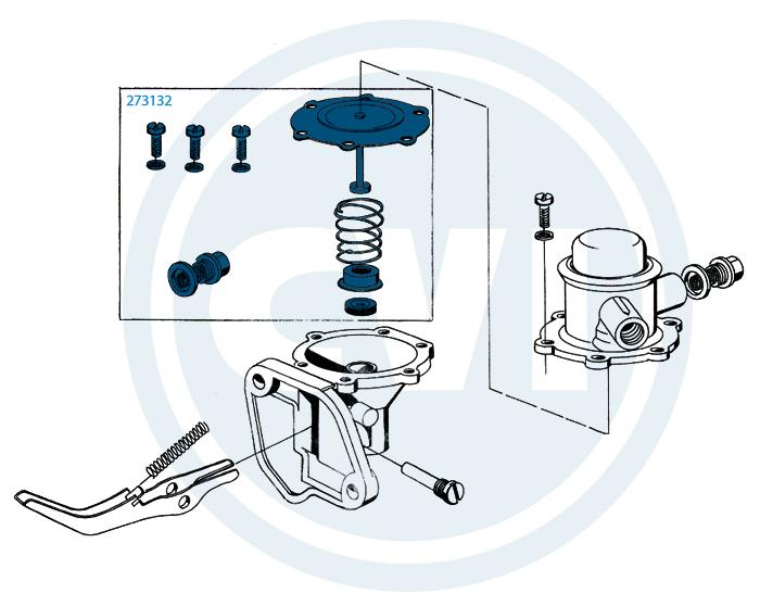 1.) Fuel pump
