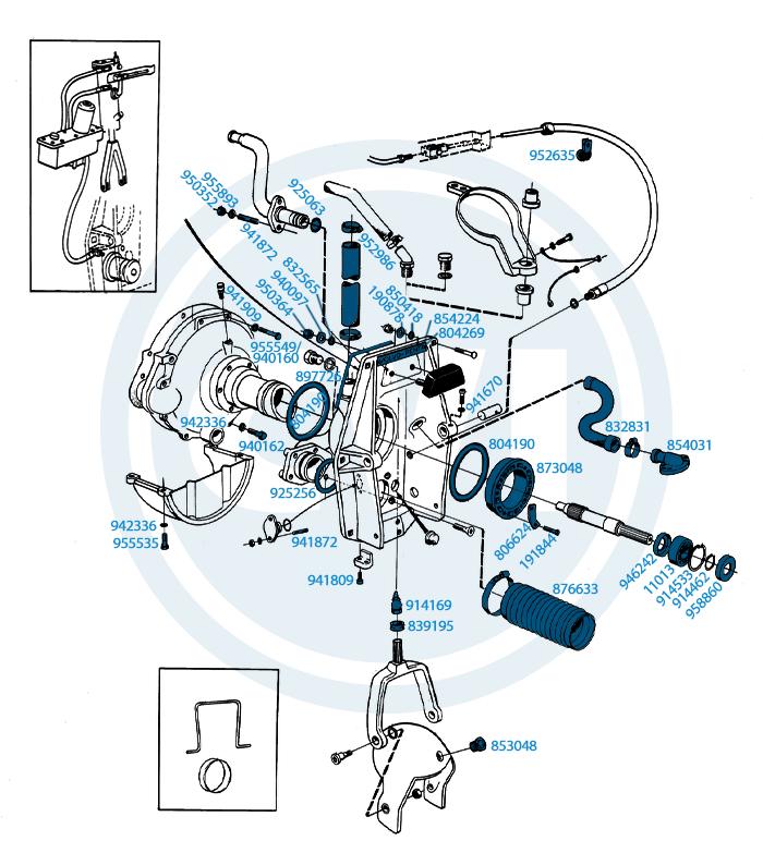 1.) Connector parts