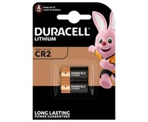 Duracell 3V Cr2 Lithiumbatteri  2-Pack  *