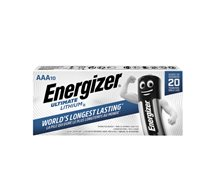 Energizer Aaa   Lithium  10-Pack *