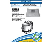 Nilfisk Gm 200->Gm 500, Extrem, Power  K432