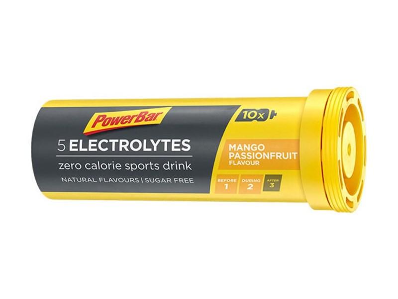 PowerBar Electrolytes Mangopassionfruit Tabs10 st/rör42g