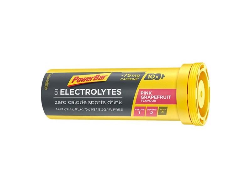 PowerBar Electrolytes Pink Grapefruit Tabs 10st/rör 42g