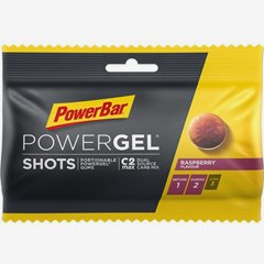Powerbar PowerGel shots PowerBar 75mg Rasberry vingummi