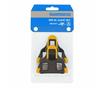 Shimano Pedalkloss SM-SH11, gul Full rörlighet, 6 grader float