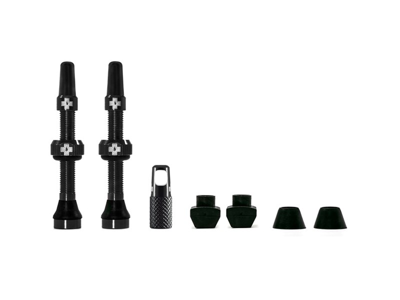 MUC-OFF Tubeless Valve 44 mm Black