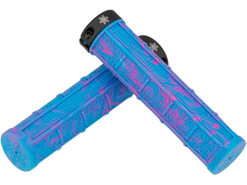 SUPACAZ Grizips NeonBlue/Neon Pink Splash