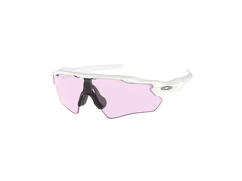 Oakley RADAR EV PATH Polished White Prizm Low Light