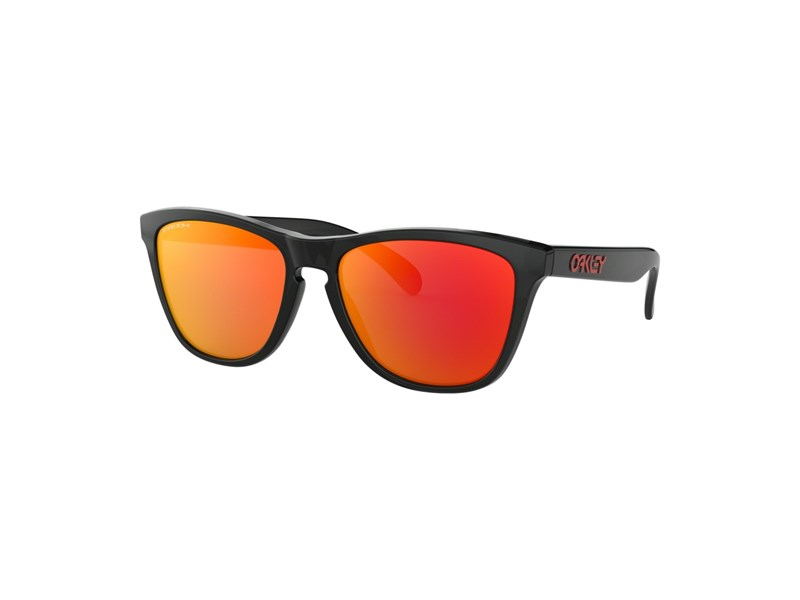 Oakley Frogskins Black Ink / PRIZM Ruby
