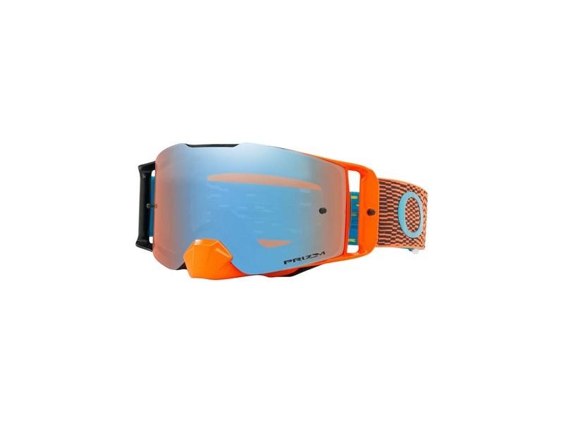 Oakley Front Line MX Equalizer Org Blue w/PrizmMX Saphr