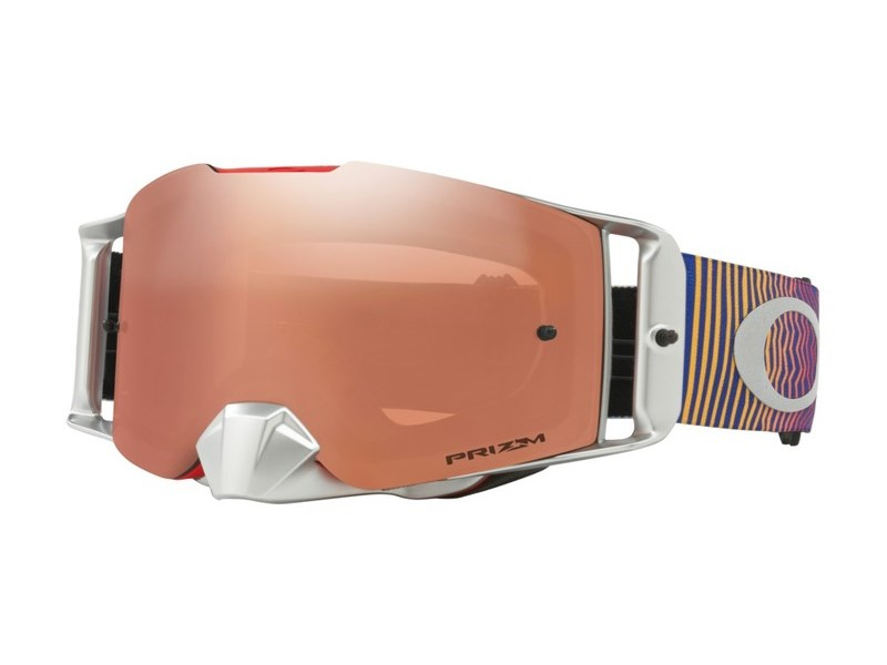 Oakley Front Line MX Goggle Matte Black Prizm Mx Bronze