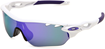 Oakley RadarLock Edge Polished White/Violet Iridium