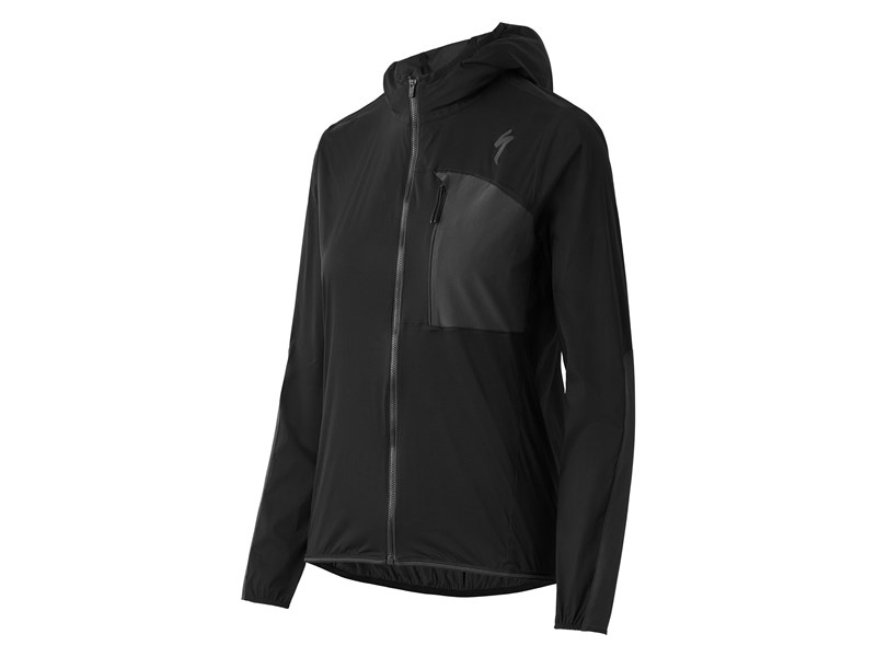 DEFLECT SWAT JACKET WMN BLK