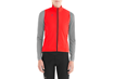 DEFLECT WIND VEST WMN RKT RED