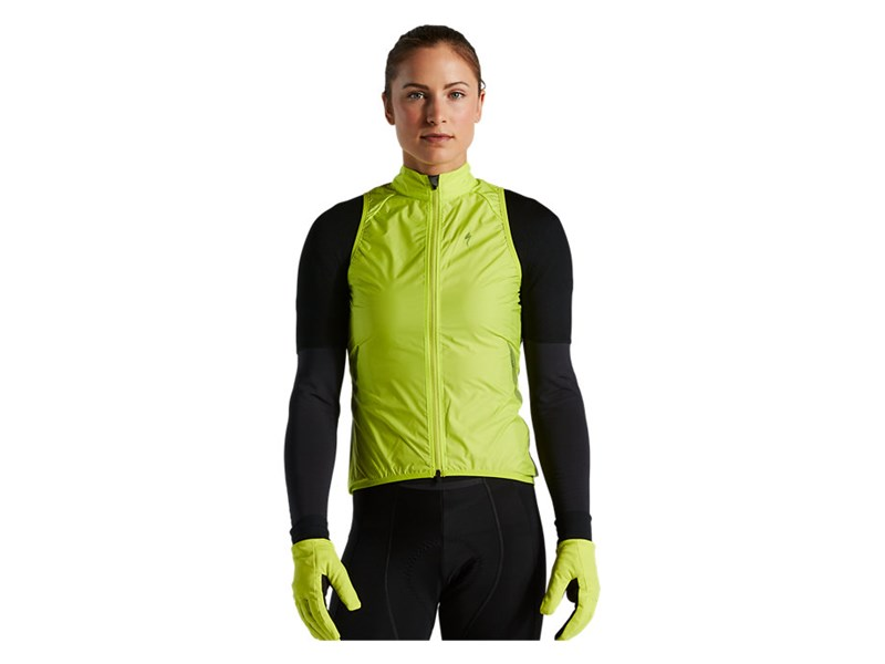 RACE-SERIES WIND GILET WMN HYPERVIZ