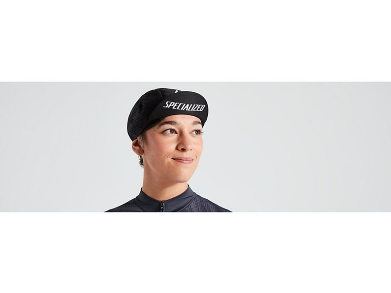 CYCLING CAP LIGHT PRINTED LOGO