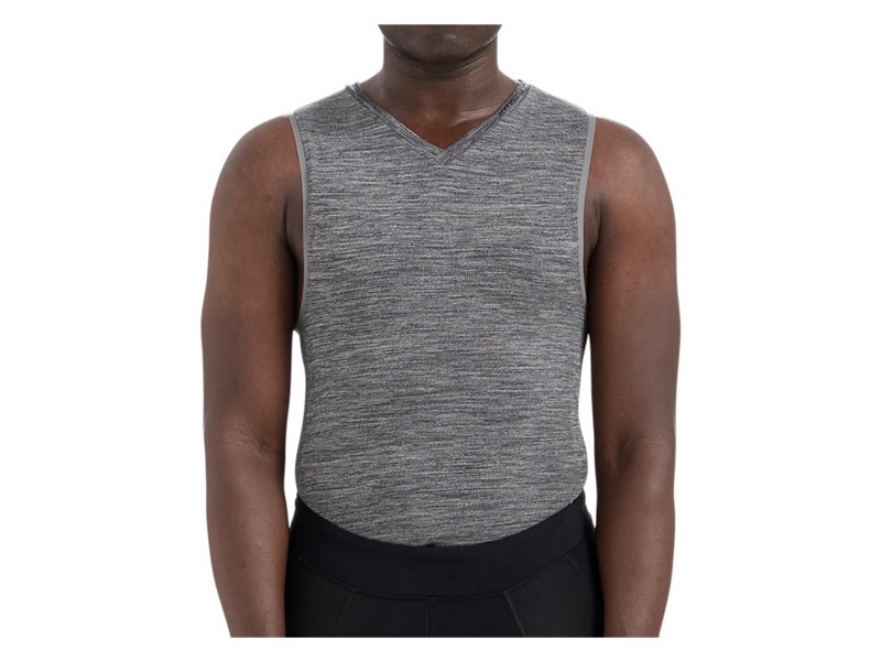 SEAMLESS BASELAYER SVL HTHR GRY S