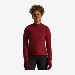 TRAIL-SERIES ALPHA JACKET WMN CRMSN S