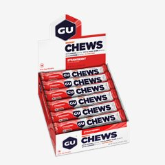 GU Strawberry, Chews, 18 Pkt Box